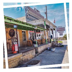 Historic Hye Texas - Hye Market Exterior